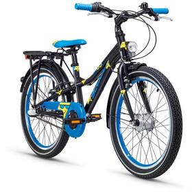 s'cool Emoji dirt 20 3-S - Vélo enfant - bleu/noir